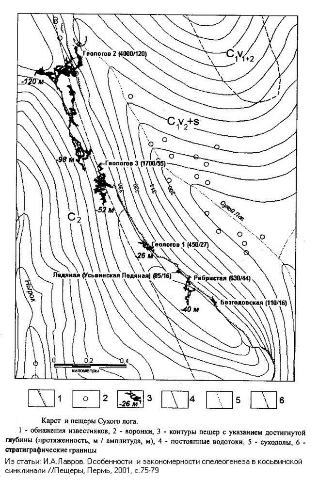 Схема Сухого лога